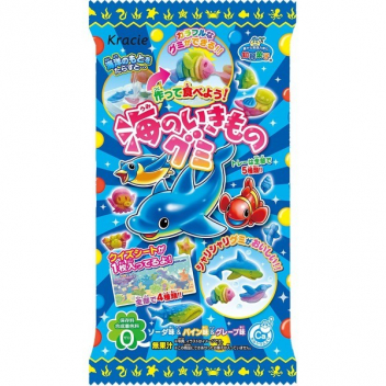 Kracie Sea Animals Gummy
