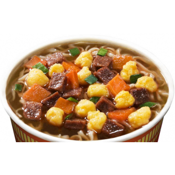 Zupa Beef Flavour Cup Nissin