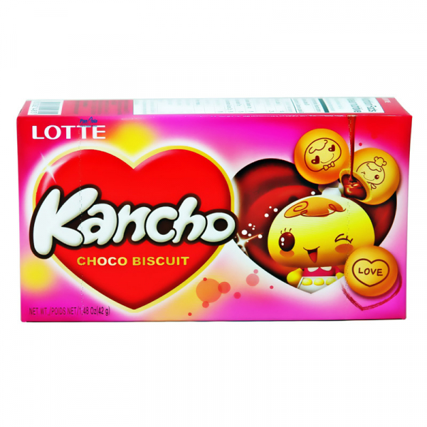 Ciastka Lotte Kancho Choco Biscuits