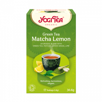 Herbata Yogi Tea Matcha Lemon